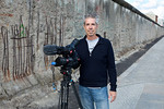 DP Geoff Schaaf at the Berlin Wall