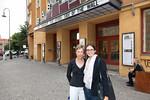 Gabriele Hayes and Masa Matejic Babylon Theater, Berlin