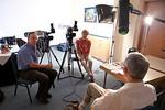 Mark Hayes, Gabriele Hayes interview Siegfried Rataizik, former Stasi Prison warden